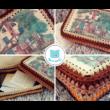 Téglalap 15x20 cm-es horgolható fa alap - Wood Stitch Collection