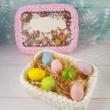 Húsvéti doboz készítő szett - Wood Stitch Collection