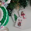 Egérkés karácsonyi figurás biléta - 3 db-os szett