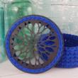 Dália - kosár készítő szett - Wood Stitch Collection