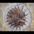 Vintage hangulatú horgolható karácsonyfadísz szett - Wood Stitch Collection