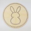 INSIDE-NYUSZI - 20 cm-es kör alakú horgolható falap