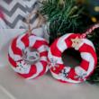 Karika díszek - karácsonyi alkotócsomag videóval! - 4 db-os szett