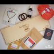 Nincs lehetetlen, ha van elég kávé! ajándékcsomag  - Wood Stitch Collection