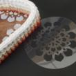 WSC stencil - Virág mandala