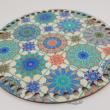Marokkói csempék - 20 cm-es horgolható fa alap