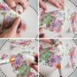 Rizspapír - Tavaszi virágok kalitkával