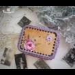 Emlékdoboz készítő szett - Wood Stitch Collection