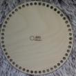 Kör 20 cm-es horgolható fa alap - Wood Stitch Collection