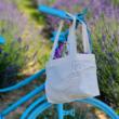 Bicikli levendulával - 10 cm kör