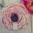 Romantikus, apró rózsás pólófonal
