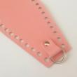 Bőr horgolható táskatest - Rózsaszín