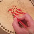 5 db-os zselés toll készlet faalapok színezéséhez