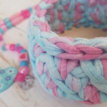 ÚJ! Kör 10 cm-es horgolható fa alap - Wood Stitch Collection