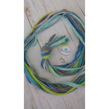 Kék lagúna - textilékszer készítő szett