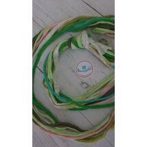 Zöldimádó - textilékszer készítő szett