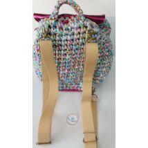 bézs hátizsákpánt antikolt színű szerelékkel
