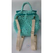 pamut nyers színű hátizsákpánt antikolt színű szerelékkel