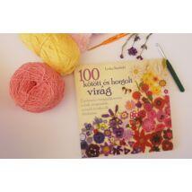 Lesley Stansfield - 100 kötött és horgolt virág (könyv)