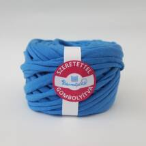 Búzavirág kék pólófonal