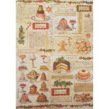 Rizspapír - Karácsonyi sütemények
