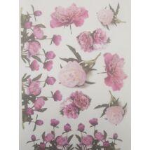 Rizspapír - Pünkösdi rózsák