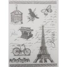 Rizspapír - Vintage Párizs