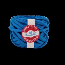 Kék pólófonal - piké anyagú