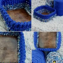 ÚJ! Négyzet 15 cm-es horgolható faalap - Wood Stitch Collection
