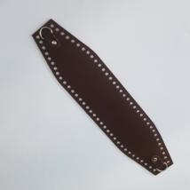 Bőr horgolható táskatest - Gesztenye