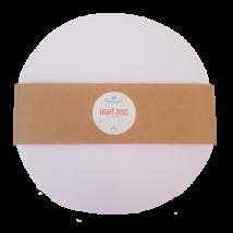 Bármitartó LIGHT DISC prémium pólófonal - hófehér
