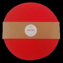 Bármitartó LIGHT DISC prémium pólófonal - izzó vörös