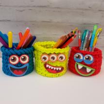 Jópofik - kosár készítő szett - Wood Stitch Collection
