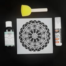 Stencilező készlet - Mandala