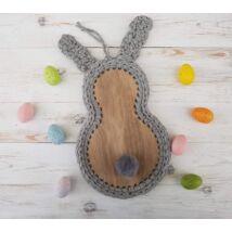 Gitár alakú horgolható falap - Wood Stitch Collection