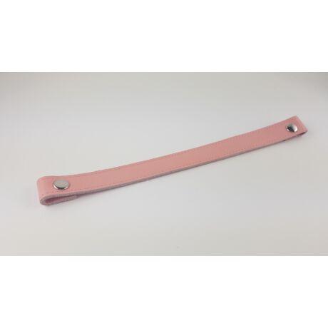 Kosár fül patentos - Skandináv rózsaszín