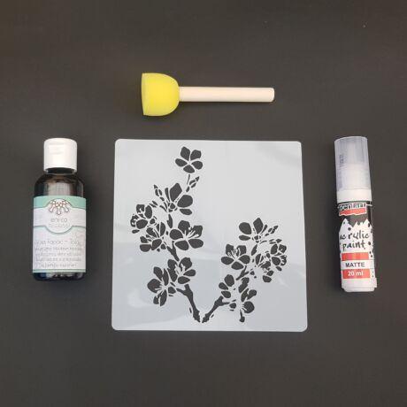 Stencilező készlet - Sakura