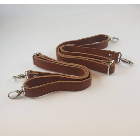 Bőr hátizsákpánt - Őzbarna