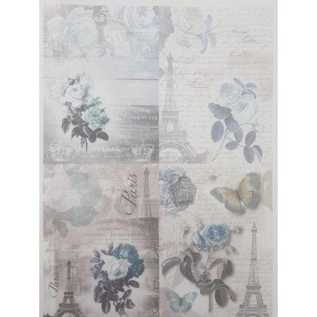 Rizspapír - Párizs kékben