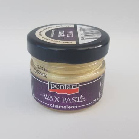 Wax paszta - fehérarany