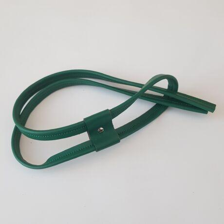 Bőr táskabehúzó - Smaragd