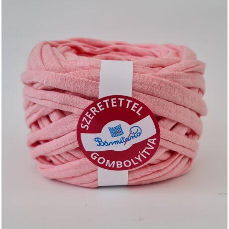 Rózsaszín melange pólófonal