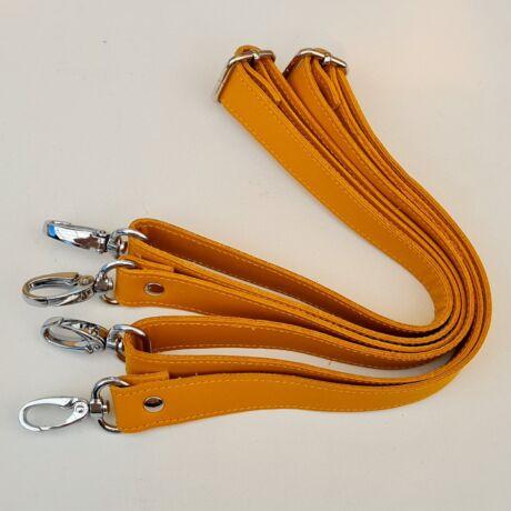 Bőr hátizsákpánt - Őszi sárga