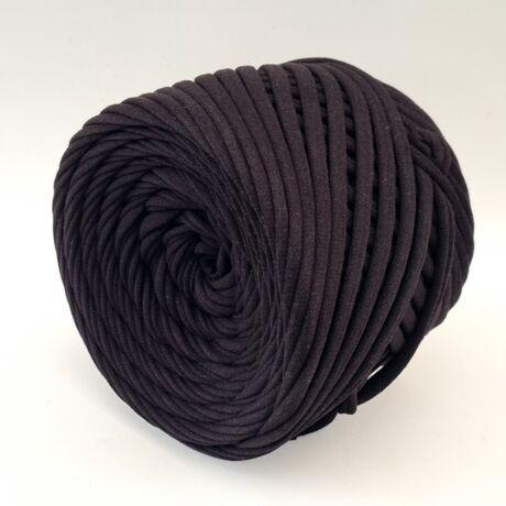 Texturált prémium pólófonal - fekete