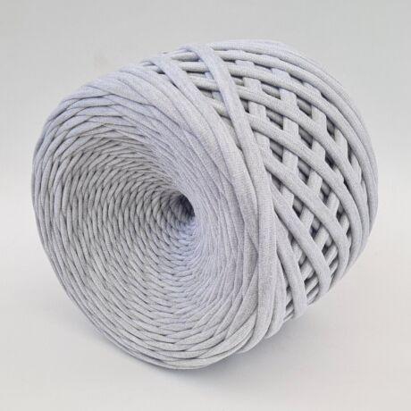 Texturált prémium pólófonal - szürke melange