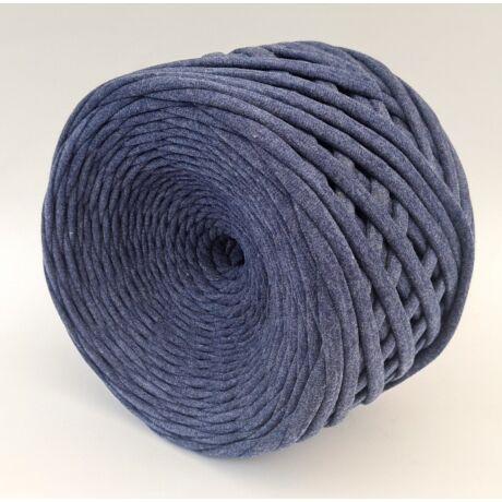 Texturált prémium pólófonal - jeans