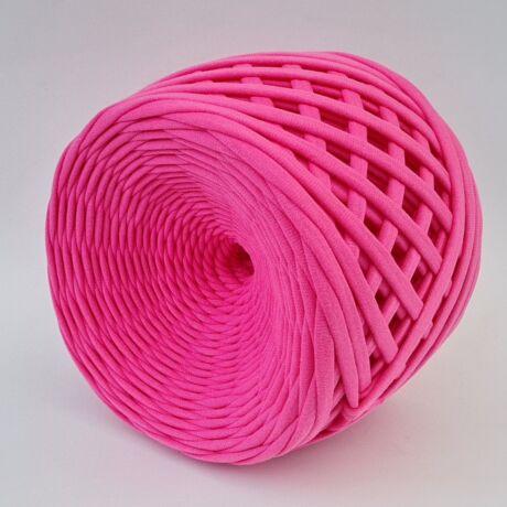 Texturált prémium pólófonal - Barbie rózsaszín