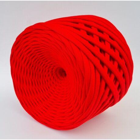 Texturált prémium pólófonal - piros