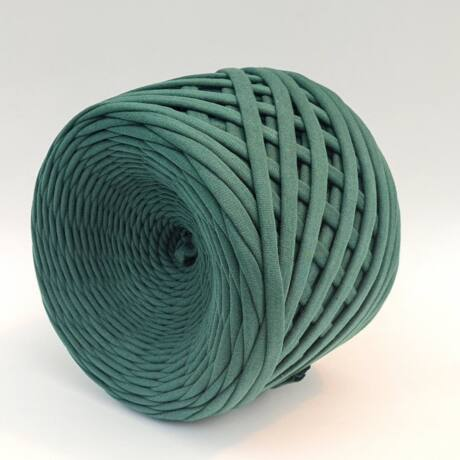 Texturált prémium pólófonal - Fenyőzöld