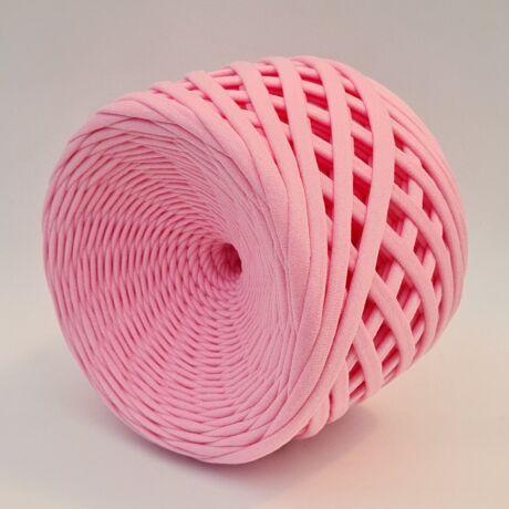 Texturált prémium pólófonal - babarózsaszín